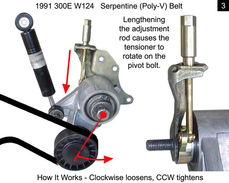 How to remove serpentine belt on a 1989 land rover range for 1991 mercedes benz 300e repair manual